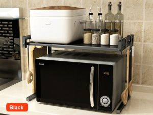 Space Saver Rack. Suitable for Microwave and Things. Extendable 43cm -60cm.